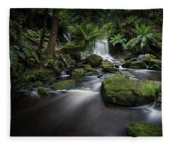 Horseshoe Falls Fleece Blanket