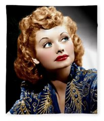 I Love Lucy Fleece Blanket