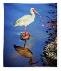 Ibis Reflections Fleece Blanket