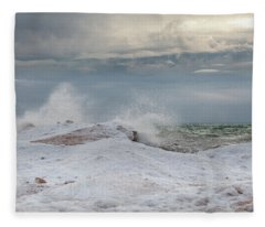 Icy Blast Fleece Blanket