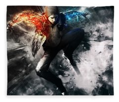 inFAMOUS Second Son Fleece Blanket