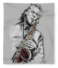 Jan Garbarek Fleece Blanket