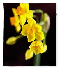 Jonquil Fleece Blanket
