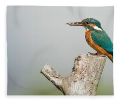 Kingfisher Fleece Blanket