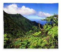 Koolau Summit Trail Fleece Blanket