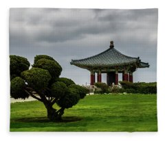 Korean Bell Of Friendship Fleece Blanket