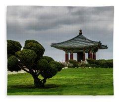 Korean Bell Of Friendship Fleece Blanket