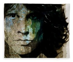 Lizard King / Jim Morrison Fleece Blanket