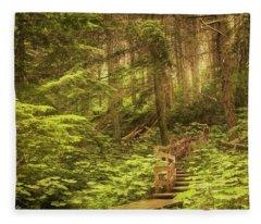 Lothlorien  Fleece Blanket