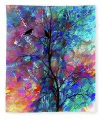Love Birds  Fleece Blanket