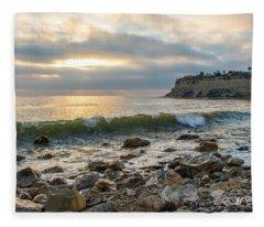 Lunada Bay Fleece Blanket