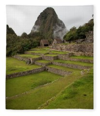 Machu Picchu Fleece Blanket