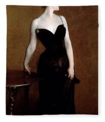 Madame X Fleece Blanket