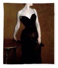 Madame X Fleece Blanket