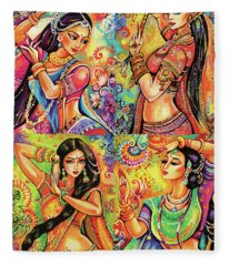 Magic Of Dance Fleece Blanket