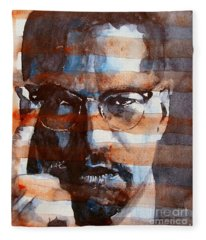 Malcolmx Fleece Blanket