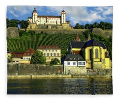 Marienberg Fortress Fleece Blanket