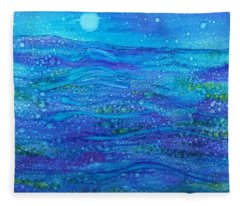 Midnight Swim Fleece Blanket