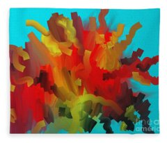 Midsummer Fleece Blanket