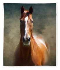 Misty In The Moonlight P D P Fleece Blanket