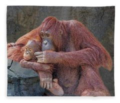 Motherhood 4 Fleece Blanket