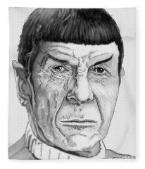 Mr Spock Fleece Blanket