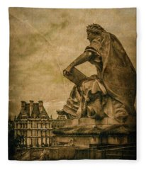 Paris, France - Muse Fleece Blanket