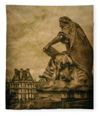 Paris, France - Muse Fleece Blanket