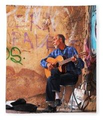 Musician Fleece Blanket