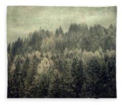 Mystic Woods Fleece Blanket