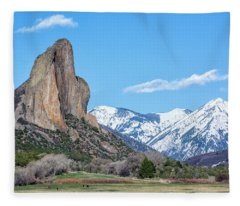 Needle Rock Fleece Blanket