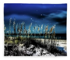 Night Moves Fleece Blanket
