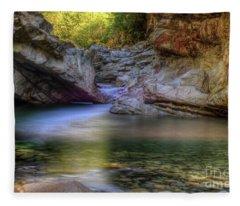 Norrish Pool Fleece Blanket