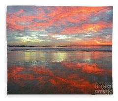 North County Reflections 48x60 Inches Fleece Blanket
