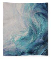 Ocean Song Fleece Blanket