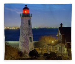 Old Point Comfort Light Fleece Blanket