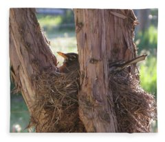 On The Nest Fleece Blanket