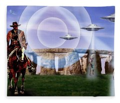 Once Upon A Time . . .  Fleece Blanket