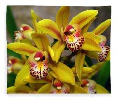 Orchid 9 Fleece Blanket
