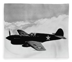 P-40 Warhawk Fleece Blanket