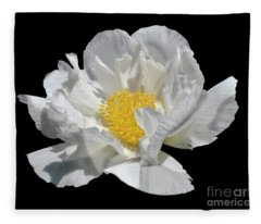 Peony June Fleece Blanket