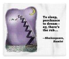 Perchance To Dream Fleece Blanket