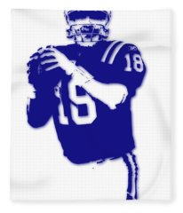 Peyton Manning Colts Fleece Blanket
