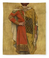 Pieter De Coninck Fleece Blanket