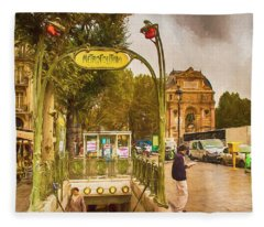 Place St. Michel Fleece Blanket