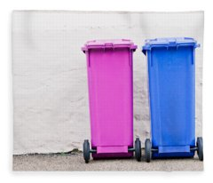 Rubbish Bin Fleece Blankets