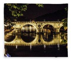 Ponte Sisto Fleece Blanket