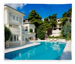 Pool Fleece Blanket