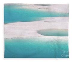 Porcelain Basin Fleece Blanket