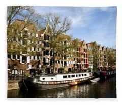 Prinsengracht Fleece Blanket